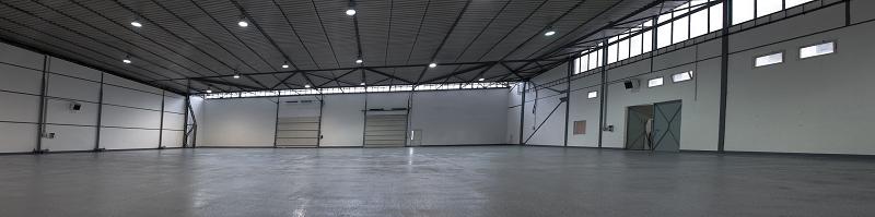 Interiér skladu v areály BTS Cargo